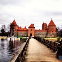 Снимок сделан в Тракайский замок пользователем Ilya K. 5/4/2013