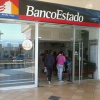 Photo taken at Banco Estado by Valeria A. on 10/3/2013
