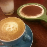 Photo taken at cafe Gré by Amna A. on 11/9/2012