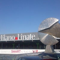 Photo taken at Milan Linate Airport (LIN) by Alessandro T. on 5/27/2013