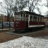 Снимок сделан в Музей городского электрического транспорта пользователем Olechka A. 4/13/2013