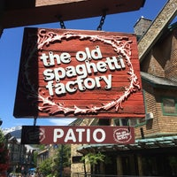 Photo taken at The Old Spaghetti Factory by Iris on 7/7/2017