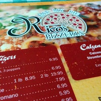 Photo taken at Rico's Pizzeria by Mark R. on 7/23/2015