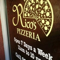 Photo taken at Rico's Pizzeria by Mark R. on 11/18/2012