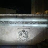 Photo taken at Pontificia Universidad Javeriana by David F. on 5/23/2013