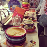 Photo taken at YO! Sushi by Audrey on 2/17/2013