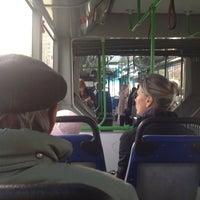 Photo taken at Автобус № 732 by Evan T. on 10/2/2012