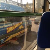 Photo taken at Автобус № 732 by Evan T. on 9/21/2012
