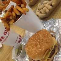 Photo taken at Five Guys by Emy on 3/26/2014