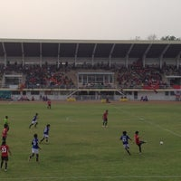 Photo taken at Sing Buri Stadium by Sereerat on 3/3/2013