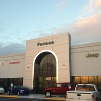 Photo Taken At Ferman Chrysler Jeep Dodge Ram Of New Port Richey By Austin  P. ...