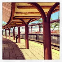 Photo taken at New London Union Station by Rob B. on 9/4/2013