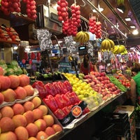 Photo taken at Mercat de Sant Josep - La Boqueria by Danielle M. on 7/10/2013