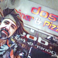 Photo taken at Dost Döner & Pizzeria by Ismail B. on 4/19/2017