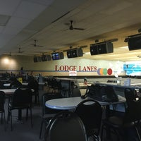 Photo taken at Lodge Lanes by Todd Y. on 6/3/2016