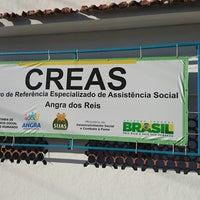 Photo taken at creas Angra Dos Reis by Diogo R. on 8/7/2014