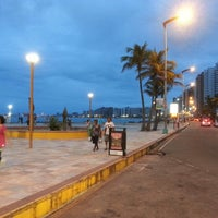 Photo taken at Avenida Beira Mar by Fabiano C. on 4/28/2013