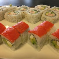 Photo taken at Sushi Express by Phil G. on 1/25/2013