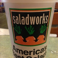 Photo taken at Saladworks by Telecorp W. on 1/16/2013