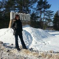 Photo taken at Псков / Pskov by kroshka mel on 2/23/2013