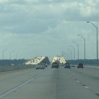 Photo taken at Henry Holland Buckman Bridge by Miss Nellom on 10/13/2012