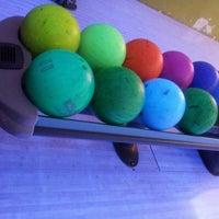 Photo taken at Cosmic Bowling by Nalan O. on 3/17/2013