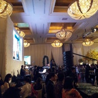 Photo taken at Hotel Mulia Senayan by mikaelfei on 12/9/2012
