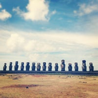 Photo taken at Easter Island by Nadia S. on 3/5/2013