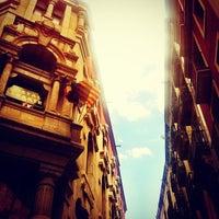 5/24/2013 tarihinde Becher B.ziyaretçi tarafından Barrio Gótico'de çekilen fotoğraf