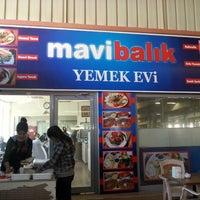 Photo taken at mavi yemek evi by Baris on 12/14/2013