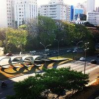 Photo taken at Centro Cultural São Paulo by Kauã V. on 9/30/2012