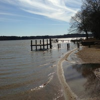 Photo taken at Lake Greenwood by Sara on 3/18/2013