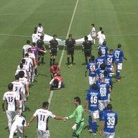 Photo taken at Estadio 10 de Diciembre by Myrna on 8/24/2013