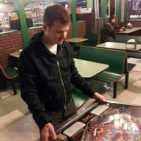 Photo taken at Gourmet Pizza by Evan O. on 10/6/2012