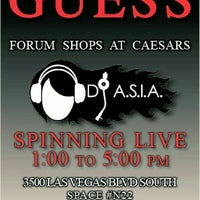 Photo taken at GUESS The Forum Shops at Caesar by DJ A. on 5/14/2016