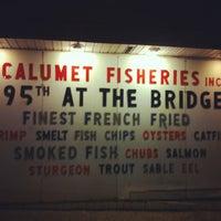 Foto tirada no(a) Calumet Fisheries por Ryan O. em 1/5/2013