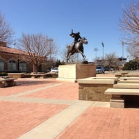 Photo taken at TTU - Marsha Sharp Center for Student Athletes by Marina K. on 3/8/2013