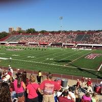 Photo taken at Warren McGuirk Alumni Stadium by Bob G. on 9/27/2014