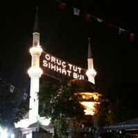 Photo taken at Eyüp Sultan Mosque by Ugur A. on 7/13/2013