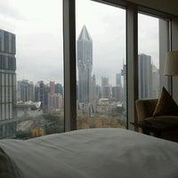 Photo taken at Le Royal Méridien Shanghai | 上海世茂皇家艾美酒店 by Laura T. on 12/2/2012