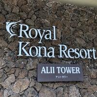 Photo taken at Royal Kona Resort Alii Tower by Eric V. on 2/15/2018