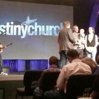 Photo taken at Destiny Church by Jaymie B. on 9/29/2012