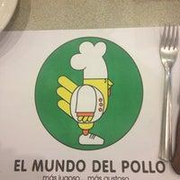 Photo taken at El Mundo Del Pollo by David on 4/10/2013