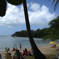 Photo taken at Isla Grande Colon by Ayelet on 1/12/2013