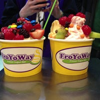 Photo taken at FroYoWay by FroYoWay on 5/8/2013