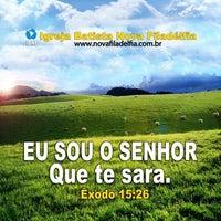 Photo taken at Igreja Batista Nova Filadélfia - Rocha Miranda by Patricia T. on 3/31/2013