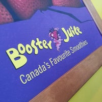 Photo taken at Booster Juice by Diana L. on 5/18/2013
