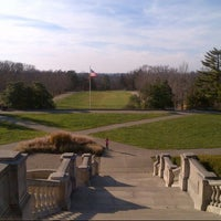 Photo taken at Ault Park by Michael K. on 11/22/2012