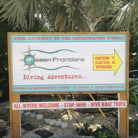 Photo taken at Ocean Frontiers Diving Adventures by Otto C. on 6/21/2013