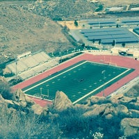 Photo taken at Tahquitz High School by Paul B. on 12/6/2015